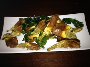 Fried Artichokes, Parsley, Lemon
