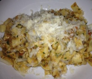 House Made Tagliatelle, Traditional Bolognese Ragu, Parmigiano