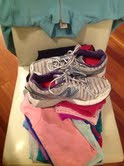 My workout clothes. I've got to keep up my training for the half marathon!