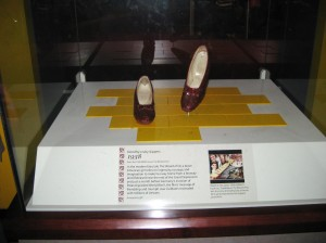 Dorothy's Ruby Red Slippers!