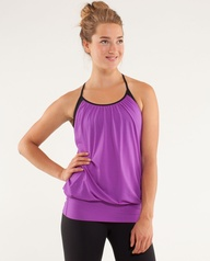 Lululemon No Limits Tank - perfect for barre and Ballet Beautiful workouts.
