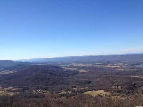 Our view from Signal Knob Overlook.