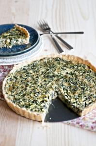 Simple Spinach QuicheSource: Pinterest