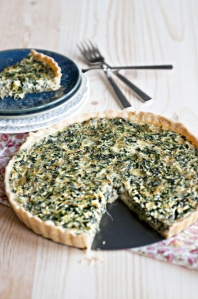 Simple Spinach QuicheSource: Pinterest