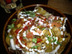 Then came the Nachos.