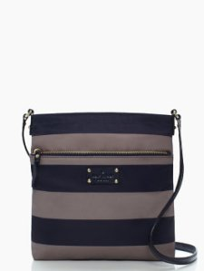 I was in the market for a flat cross body purse. This one was super cheap thanks to Kate Spade's surprise 75% off sale.