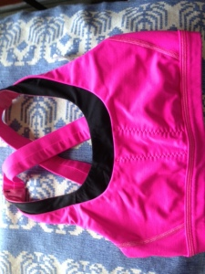 Possibly the greatest thing ever, Lululemon's Stuff Your Bra sports bra.