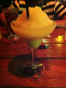 I treated myself to a margarita!