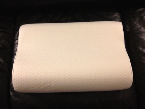 My new pillow, a tempurpedic pillow. I