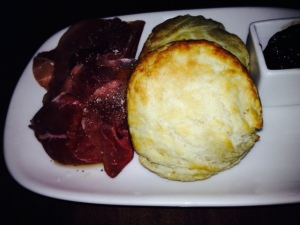 Buttermilk Biscuits, daily preserve and charcuterie