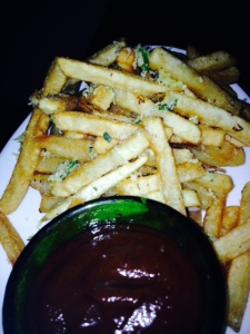 French Fries tossed with parsley, garlic, lemon, house-made ketchup.