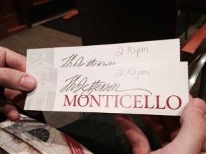 Monticello baby!