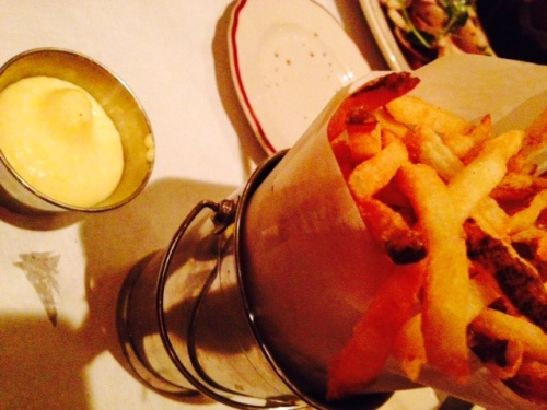 and frites!
