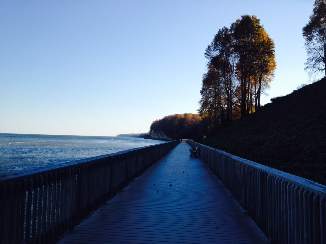I foresee many morning runs on this boardwalk. :-)