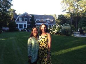 I had the opportunity to go to the Hamptons for the first time for a work event that same month.