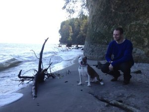 We took another solo trip out to Chesapeake Beach to checkout our new neighborhood surroundings.