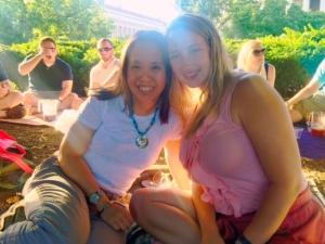 Lindsay and me!