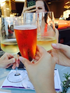 Cheers to our girls trip!