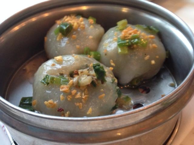 Gui Chai ˧ Steamed Garlic Chive & Mushroom Dumplings