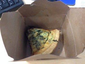 Spinach Quiche!