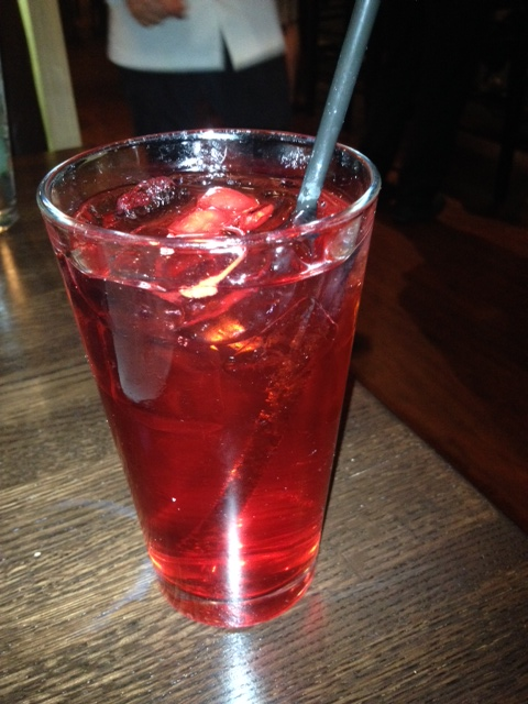 A Shirley Temple for me.