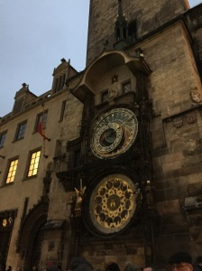 We passed by the famous Astronomical Clock - but didn't happen to see the little figurines that came out at the top of each hour. We'd see those later on our trip.