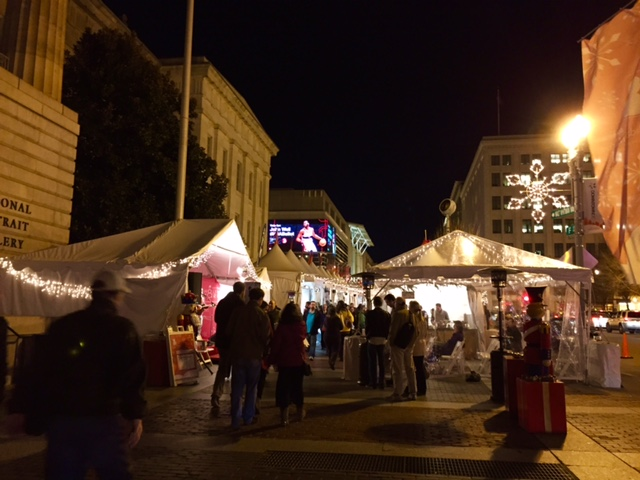 This market kind of reminded Tommy and me of the Christmas markets in Prague.