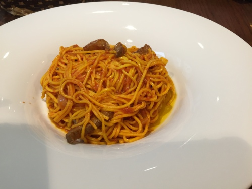 My yummy bolognese dish!