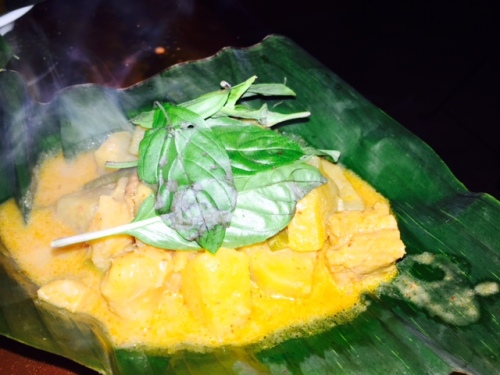Then a Pineapple Curry.