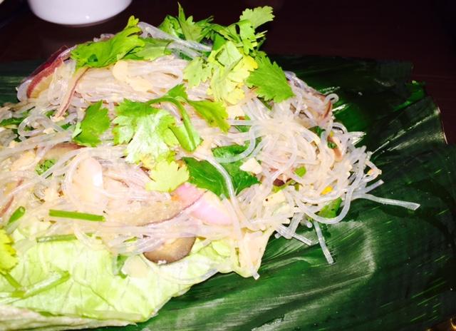 Glass Noodle dish.