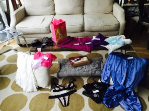 Tiffany's loot!