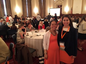 My co-worker Alison and me at the breakfast. Go No Kid Hungry!