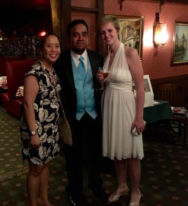 The newlyweds and me.
