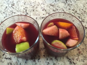 Homemade Sangria!